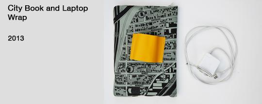 BUTTON-City Laptop Wrap