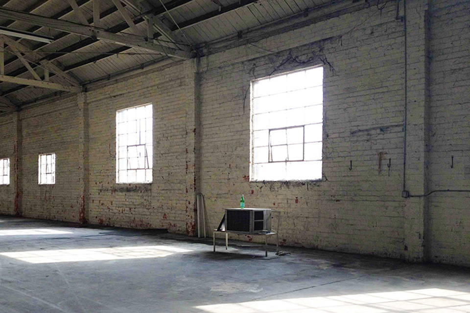 South LA Warehouse to Artist Studio Conversion