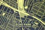 CITY-Echo Park-Yellow on Black