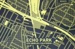 CITY-Echo Park-Yellow on Black