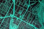 CITY-Echo Park-Green on Black