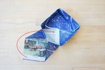 Step 10: Fold flap to center